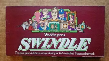 Swindle .. Board Game..Waddingtons 1976